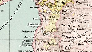 Jawhar State - Jawhar State in the Imperial Gazetteer of India