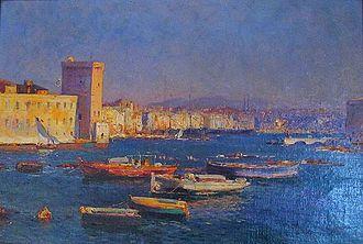 Jean-Baptiste Olive - Image: Jean Baptiste Olive Vue du port de Marseille