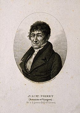 Jean-Louis Marie Poiret. Stipple engraving by A. Tardieu, 18 Wellcome V0004728.jpg