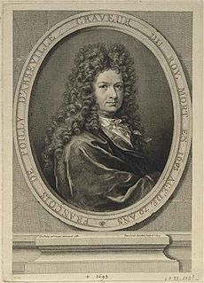 François de Poilly French artist