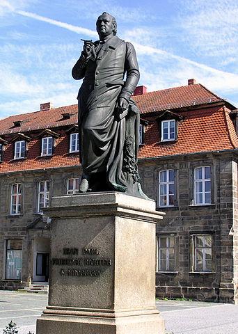 Памятник Жан Полю в Байрейте