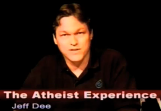 Jeff Dee - Jeff Dee on The Atheist Experience TV show, January 4, 2009.