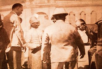 Jhargram Raj - The Governor of Bengal at Jhargram Palace