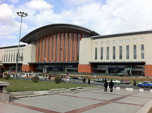 Jilin Station west station building (2011)