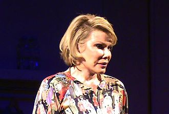 Joan Rivers - Rivers performing in her show at the 2008 Edinburgh Festival Fringe