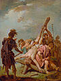Johann Conrad Seekatz Kreuzigung des hl Petrus.jpg