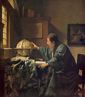 painting by Johannes Vermeer