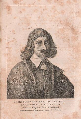 John Stewart, 1st Earl of Traquair - John Stewart, Earl of Traquair