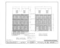 John Beekman House, 29-29 1-2 Cherry Street, New York, New York County, NY HABS NY,31-NEYO,42- (sheet 2 of 8).png
