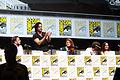 John Bradley, Kit Harington, Rose Leslie, Richard Madden & Emilia Clarke.jpg