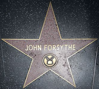 John Forsythe - Hollywood Walk of Fame