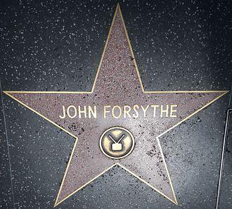 John Forsythe - Hollywood Walk of Fame