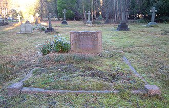John Hay Beith - Beith's grave in Brookwood Cemetery