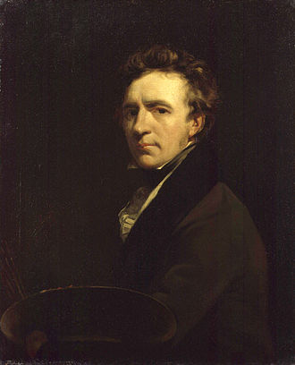 John Jackson (painter) - Self-portrait