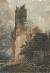 A Castle Tower (Caernarvon Castle)