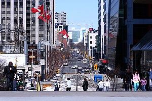 John Street (Toronto) - John Street running from the Rogers Centre to the Art Gallery of Ontario