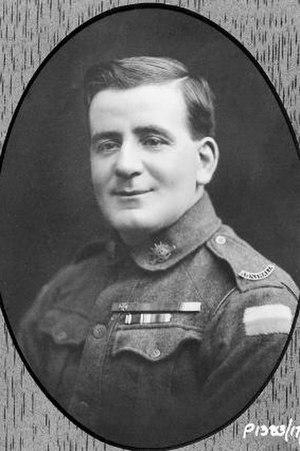 John Whittle - Sergeant John Whittle c.1919