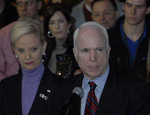 Senator John and Mrs. Cindy McCain
