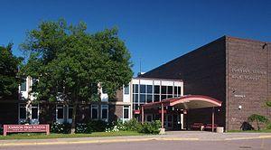 Johnson Senior High School (Saint Paul, Minnesota) - Main entrance of the current Johnson Senior High School