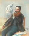 José Relvas tocando violino (1898) - José Malhoa.png