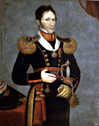José María de la Cruz - Portrait by José Gil de Castro