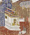 Jujak Asks Vessantara for His Children as Slaves, Scene from a Vessantara Jataka LACMA M.75.36.4.jpg