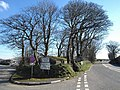 Junction at Hallworthy - geograph.org.uk - 731929.jpg