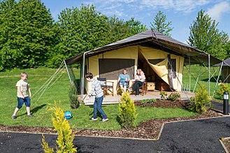 Gulliver's Land - Jungle Safari Tents