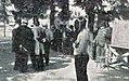 Jury en délibération lors du tournoi d'épée des JO 1900.jpg