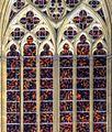 Kölner Dom -part Richterfenster an der Südseite bei Nacht (7264-66).jpg