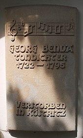 Gedenktafel Südseite von St. Leonhard (Bad Köstritz) (Quelle: Wikimedia)