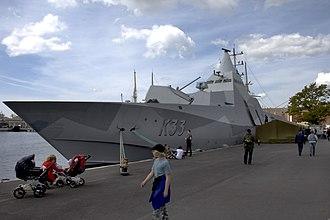 HSwMS Härnösand (K33) - HSwMS Härnösand
