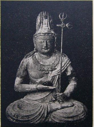 Ākāśagarbha - Ākāśagarbha statue in Jingo-ji, 9th century