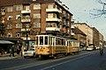 KS tram line 14 on Peter Bangs Vej.jpg