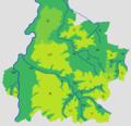 Kaart met plateaus en dalen Zuid-Limburg.PNG