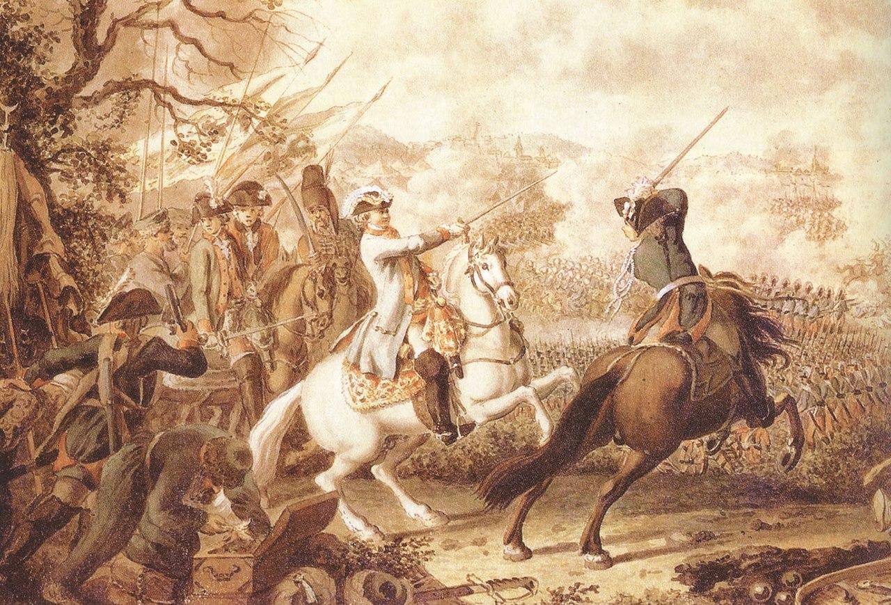 Д. Ходовецкий. «Сражение при Кагуле»
