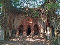 Kajlagarh Gopal Navaratna temple of Chowdhury family at Bhagabanpur under Purba Medinipur district in West Bengal 03.jpg