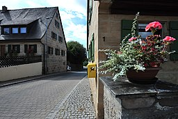 Am Dorfbrunnen in Kalchreuth