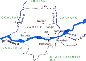 Undivided Kamrup district - The Undivided Kamrup district in 1931