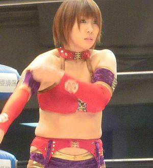 Asuka (wrestler) - Kana in December 2010