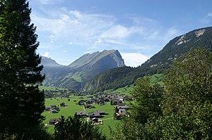 Au, Vorarlberg - Image: Kanisfluh Au 2