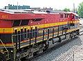 Kansas City Southern Railway - 4853 diesel locomotive (Marion, Ohio, USA) 2 (42318750215).jpg