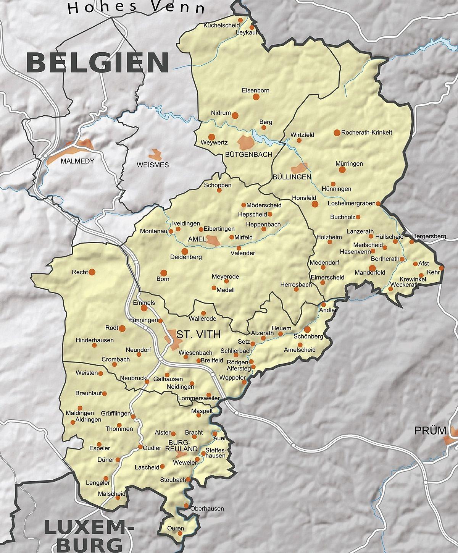 Eifel Karte Pdf.Belgische Eifel Wikipedia