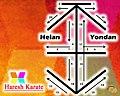 Karate Kata Heian Yondan Pattern.jpg
