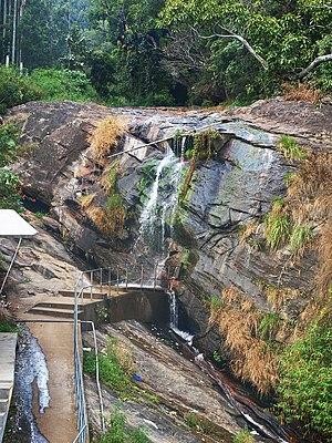 Marayur - Karimutty waterfalls near Marayoor