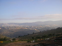 Skyline of Karmiel