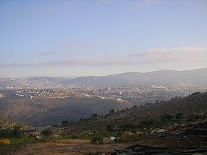 Haifa metropolitan area - Karmiel.