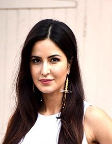 Katrina Kaif looking at the camera