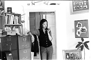 Kathy Change -  Kathleen Chang (later Kathy Change) seen in her San Francisco apartment in 1975.Photos by Nancy Wong