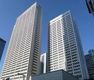 Keio Plaza Hotel building in Shinjuku-ku, Tokyo, Japan